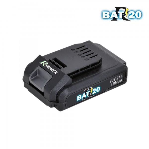 Spare Li-ion battery for RBAT20 20 V 2Ah