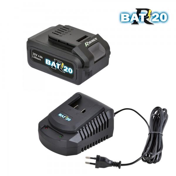 Kit charger + battery RBAT20